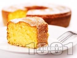 Класически кекс с кисело мляко и яйца - снимка на рецептата